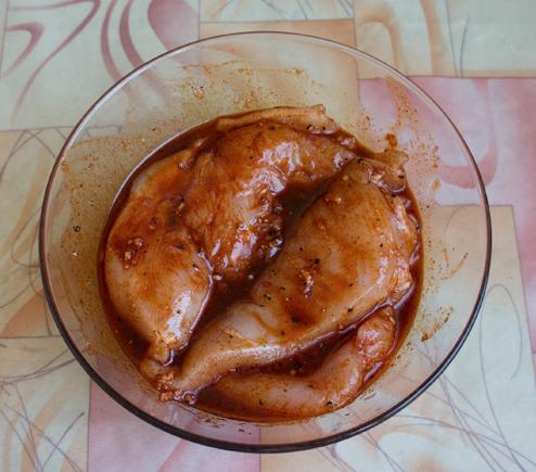 Бастурма из курицы в духовке - фото шаг 4