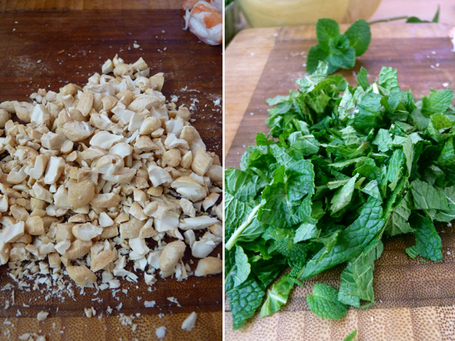 Салат из помело и креветок - фото шаг 6