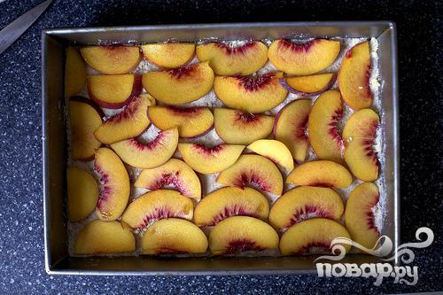 Персиковые коржики - фото шаг 2