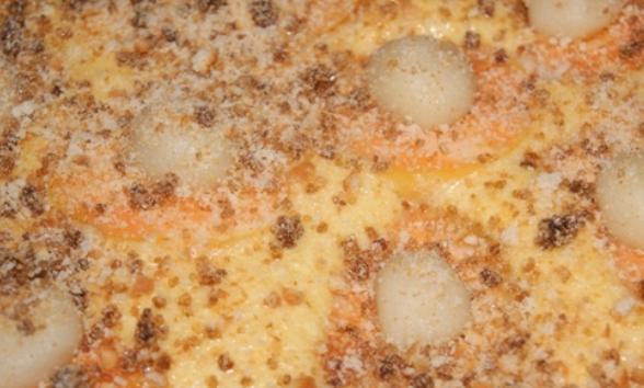 Абрикосовый пирог с марципаном - фото шаг 5
