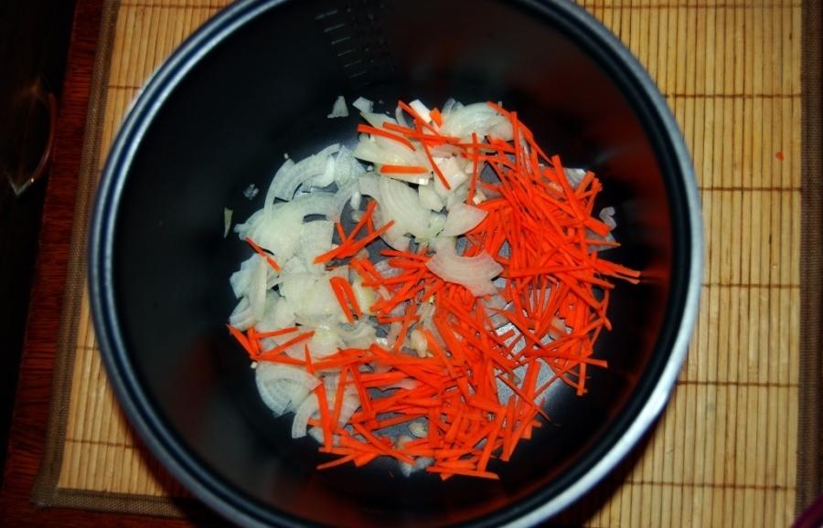 Рецепт Куриный суп-лапша в мультиварке