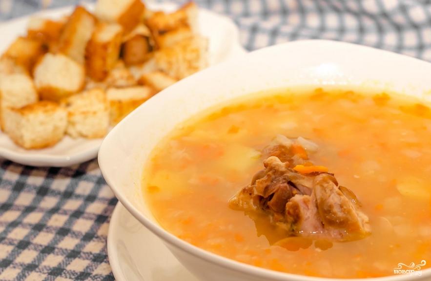 Суп из копченостей - фото шаг 10