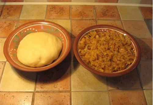 Рецепт Вареники с кабачками