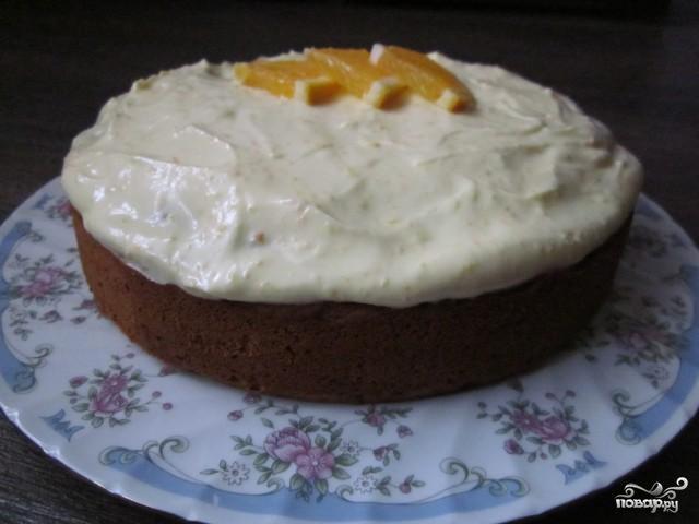 Тыквенный пирог с медом - фото шаг 9