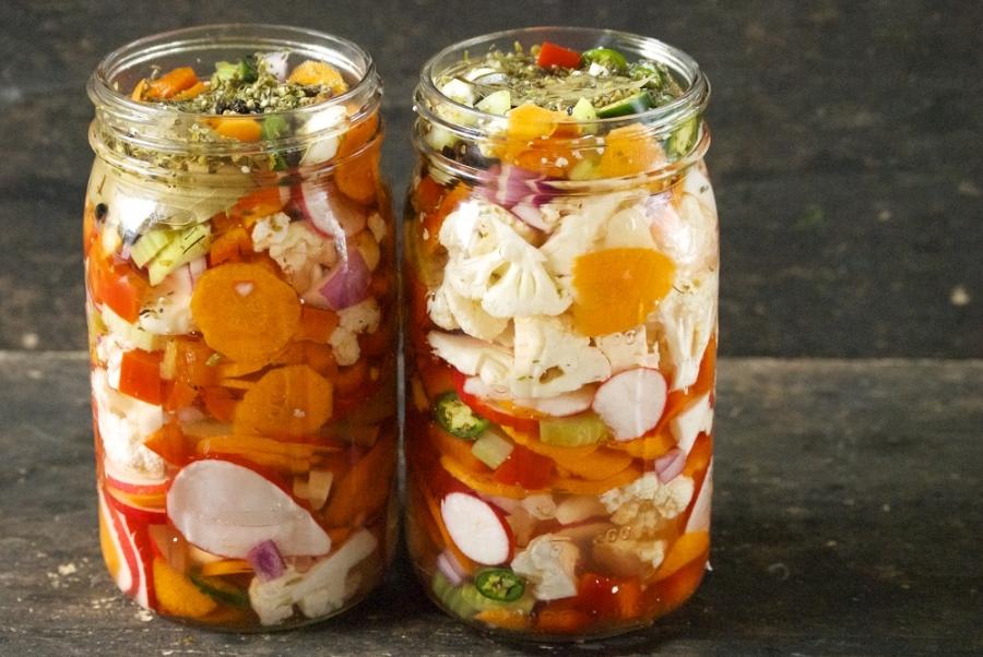 Овощи на зиму - фото шаг 4
