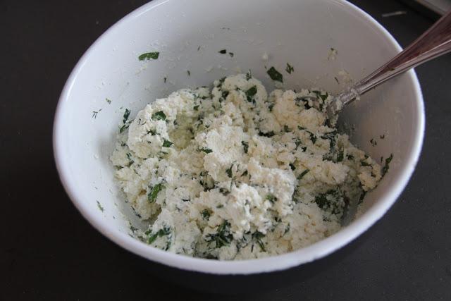 Каннеллони с творогом и сыром - фото шаг 3