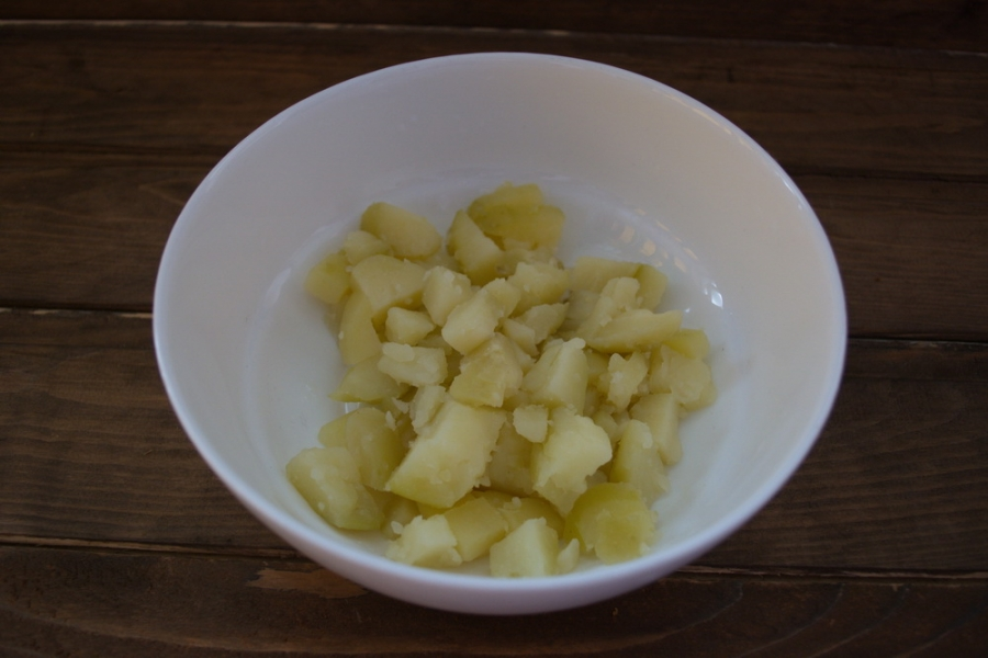 Диетический салат с консервированным тунцом - фото шаг 1