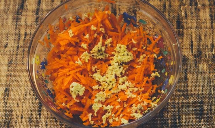 Рецепт Вегетарианский морковный пирог