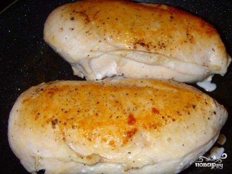 Куриное филе в сливочном соусе - фото шаг 4