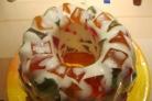 Торт Самоцветы в снегу