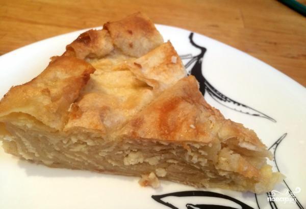 Cладкий пирог из лаваша