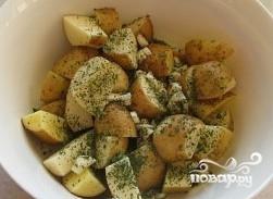 Картофель в рукаве в духовке - фото шаг 5