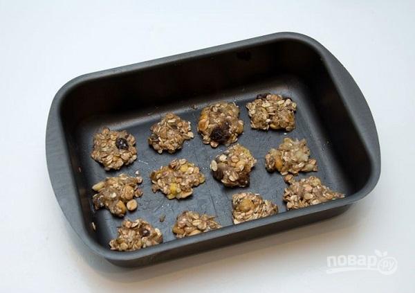 Овсяное печенье без сахара - фото шаг 7