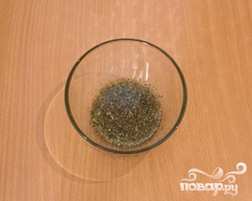 Баранина, запеченная с чесноком и травами - фото шаг 2