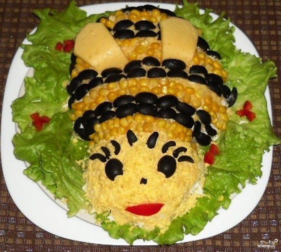 салат из яиц рецепты с фото на скорую