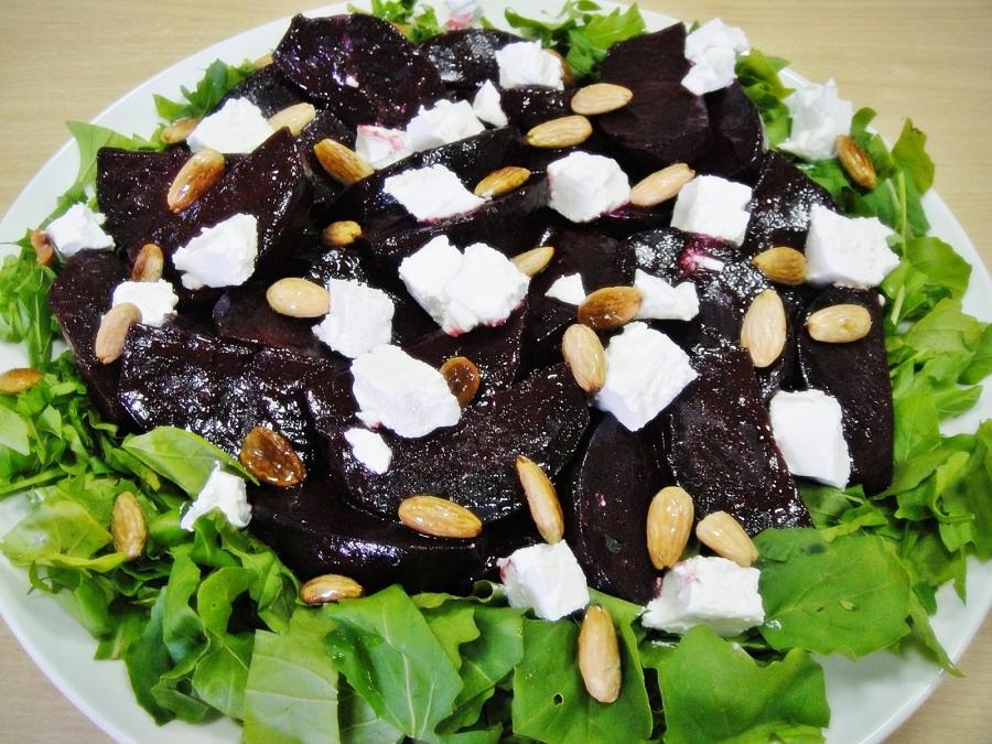 Салат из свеклы и феты - фото шаг 5