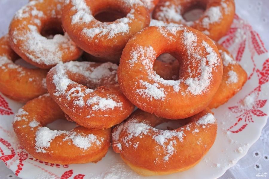 Пончики дрожжевые - фото шаг 4