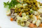 Мясной салат классический с говядиной