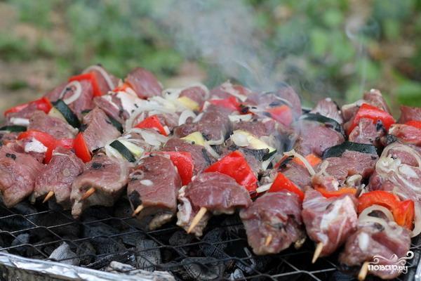 Шашлык из говядины - фото шаг 9
