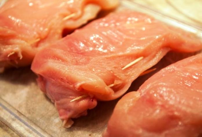 Куриная грудка с сыром - фото шаг 2