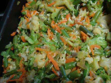 Рецепт Запеканка рыбная с овощами