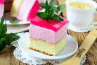 Клубничный желейный торт
