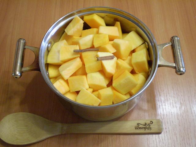 Джем из тыквы с лимоном - фото шаг 3