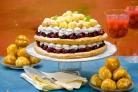 Торт из заварного теста с медом