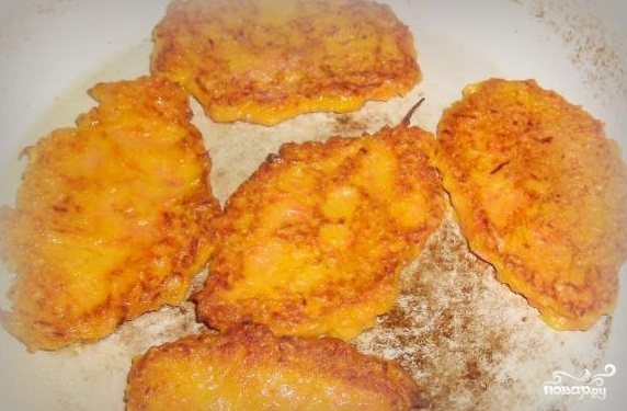 Оладьи из тыквы и моркови - фото шаг 6