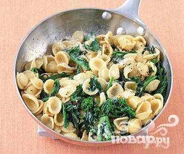Рецепт Паста с брокколи и анчоусами
