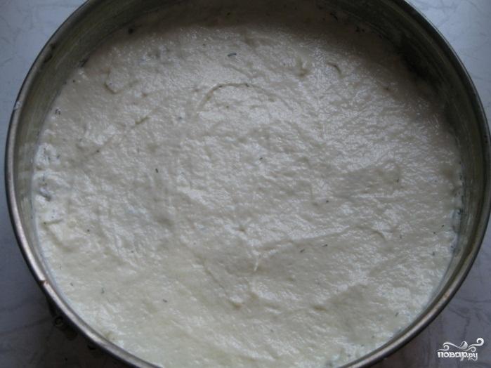 Картофельный пирог с луком - фото шаг 7