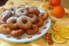 Апельсиновые пончики