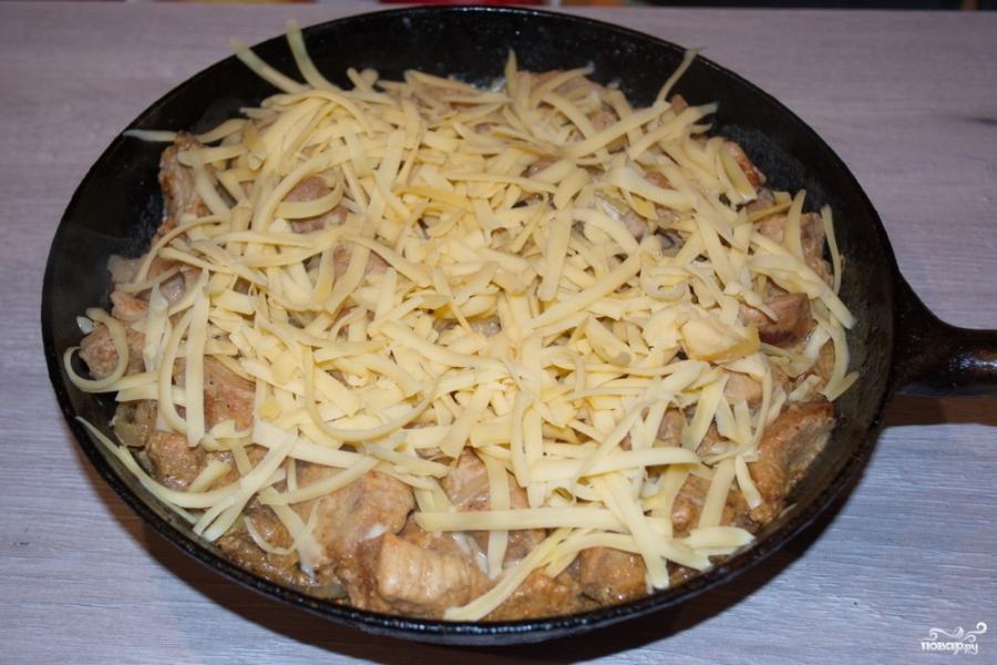 Курица под сырным соусом  - фото шаг 5