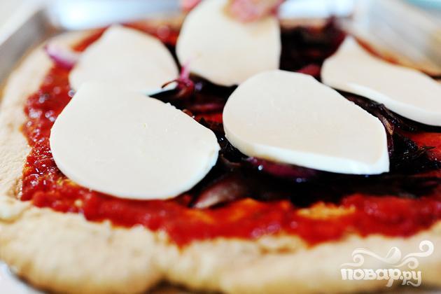 Пицца со стейком - фото шаг 5