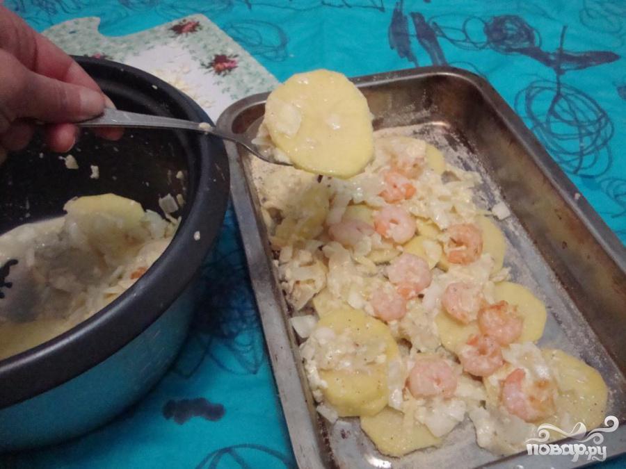 Картофельно-капустная запеканка - фото шаг 4