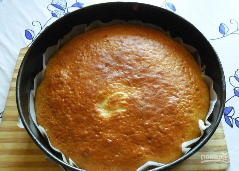 Сметанный торт на кефире рецепт с фото