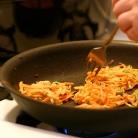 Рецепт Овощные оладьи с соусом карри
