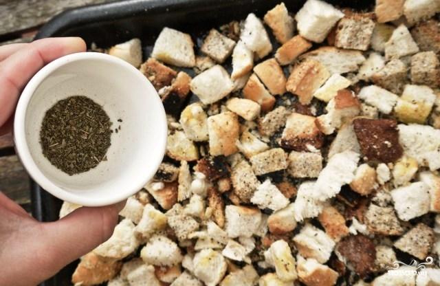 Сухари для салата - фото шаг 5