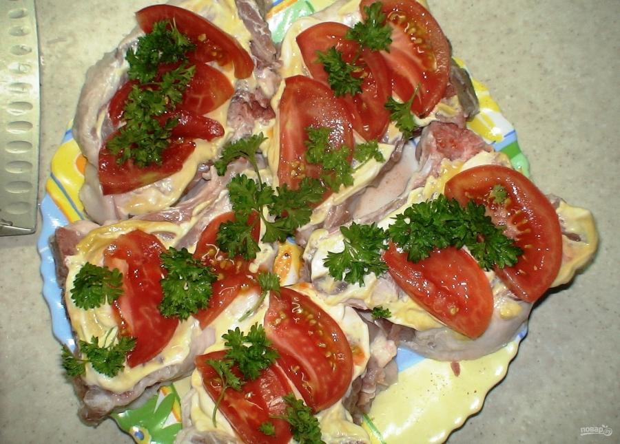 Стейк из свинины в духовке в рукаве рецепты