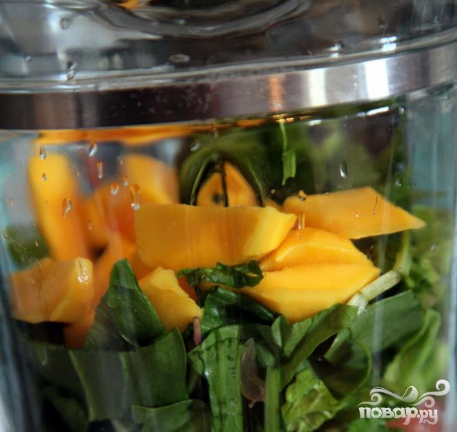 Зеленый витаминный напиток Джулиус - фото шаг 3