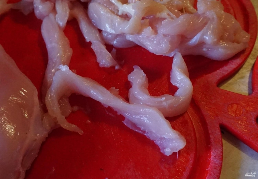 Суп с рисовой лапшой - фото шаг 1