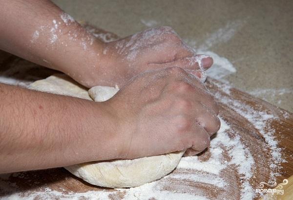 Тесто на пельмени на молоке - фото шаг 7