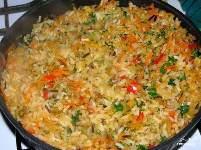 Рецепт Бигус с рисом