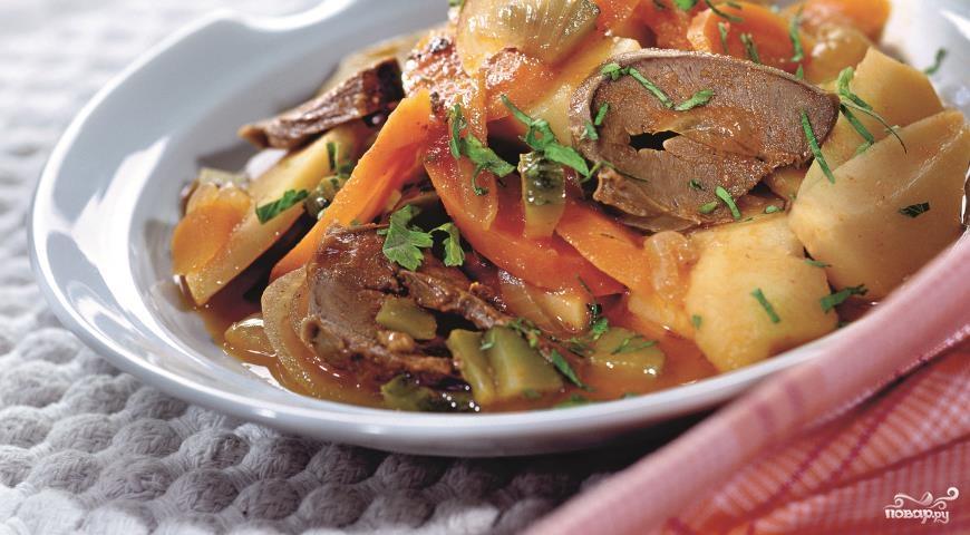 суп с говяжьем сердцем рецепты
