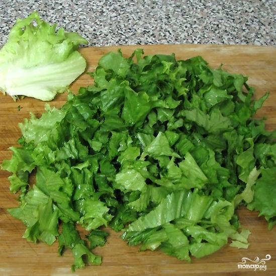 Салат из тунца консервированного - фото шаг 5
