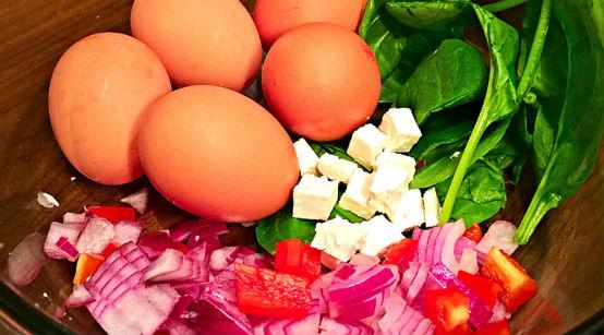 Рецепт Овощной омлет диетический