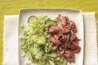 Азиатский салат с огурцом и пекинской капустой