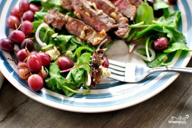 мясо с зеленым луком рецепт