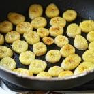 Рецепт Жареный банан и вареный ананас