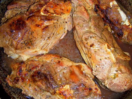 Алыча с мясом - фото шаг 3